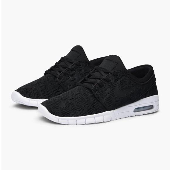 "buy sale uk availability new product Nike SB Stefan Janoski Max ""Black White"" NWT"